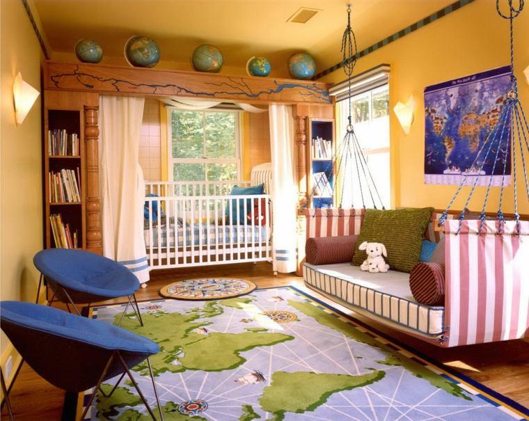 decorar las paredes de las habitaciones infantiles