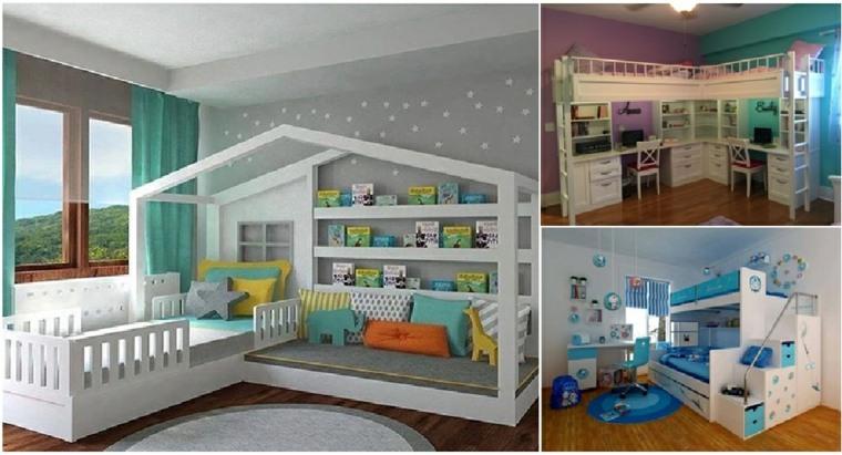 originales dormitorios para niños