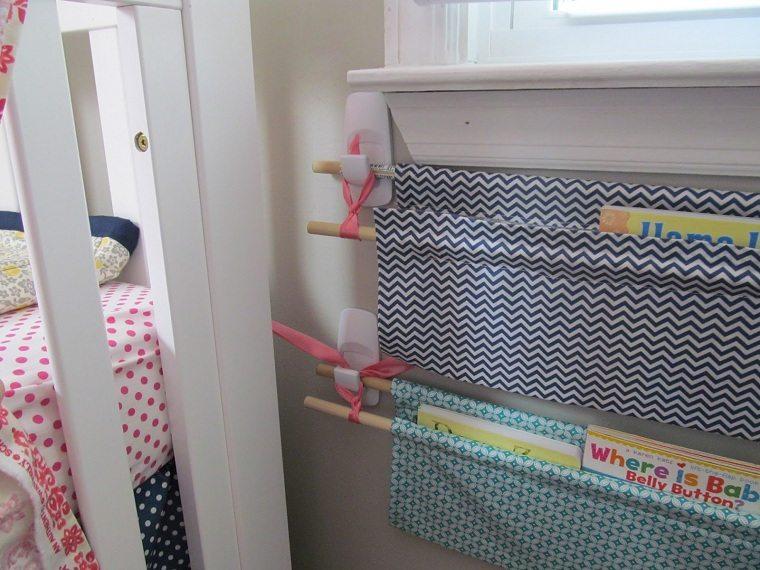 habitaciones infantiles originales-ideas-libros-cuadrenos
