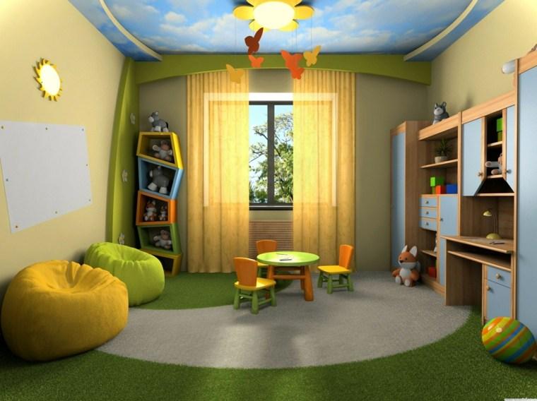 diseños de dormitorios para niños