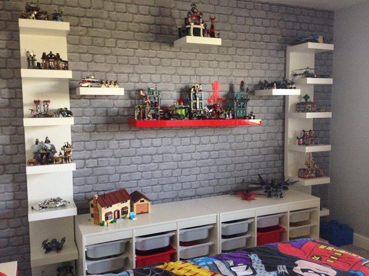 habitaciones infantiles originales-muebles-blancos