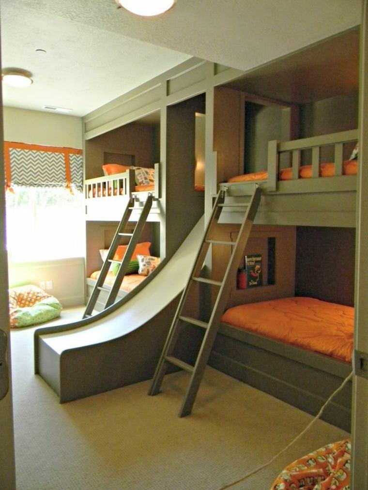 estupendos diseños de habitaciones para niños