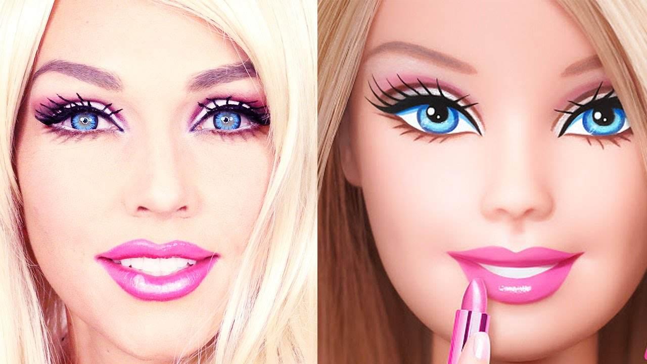 halloween-makeup-barbie-natural