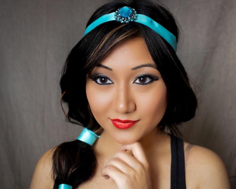 halloween-makeup-princesa-jasmin-ideas