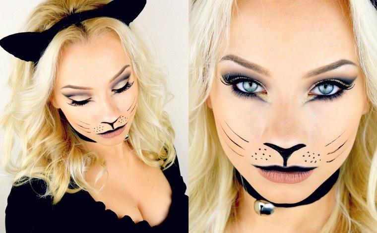 Halloween Makeup 30 ideas de maquillaje aterador para mujeres