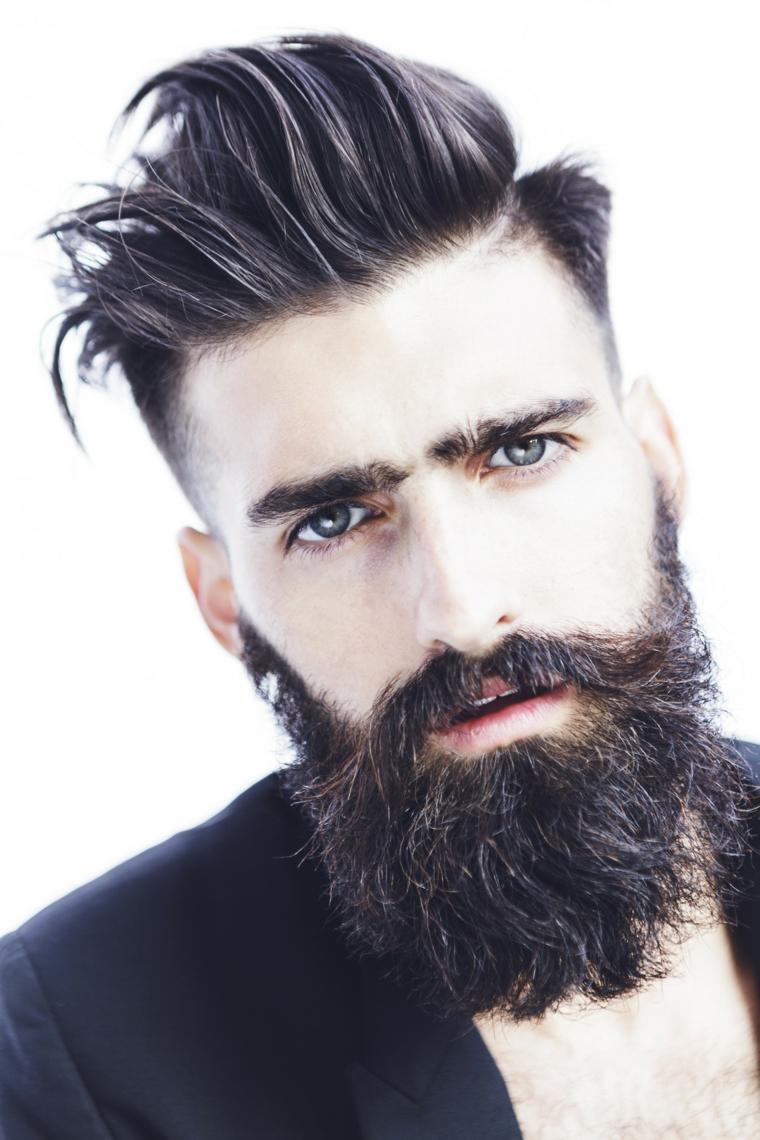 hombre-barba-opciones-modernas-peinado
