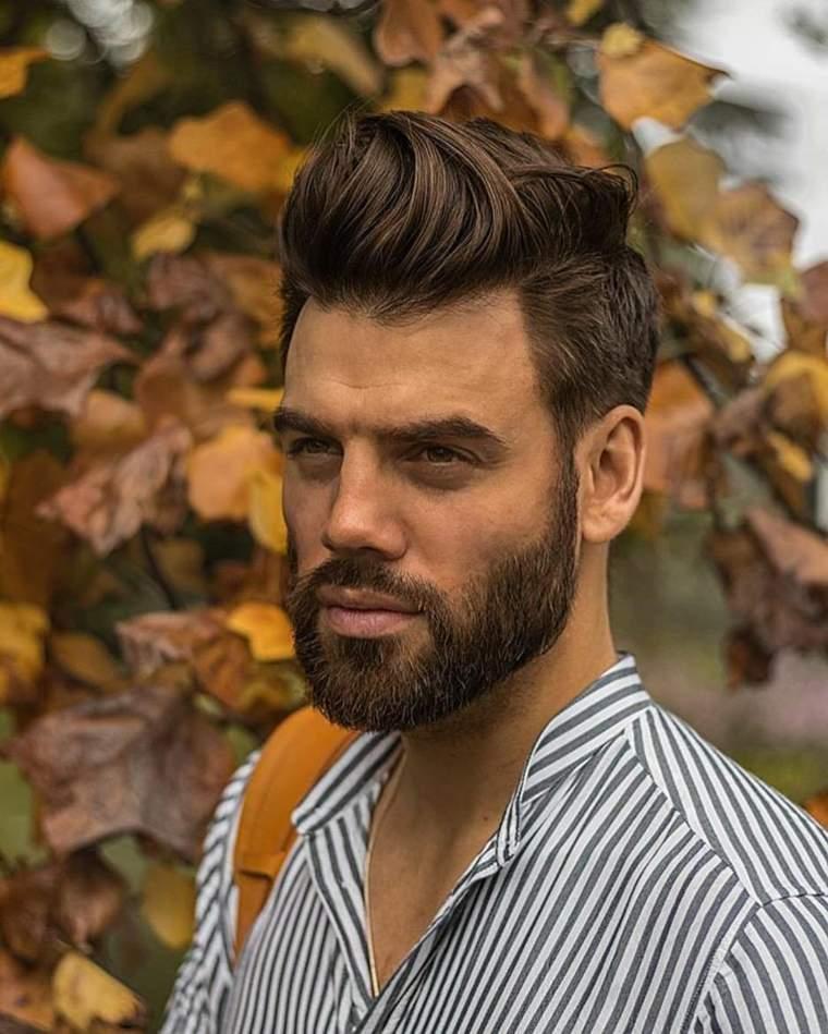 Corte cabello ondulado hombre 2018