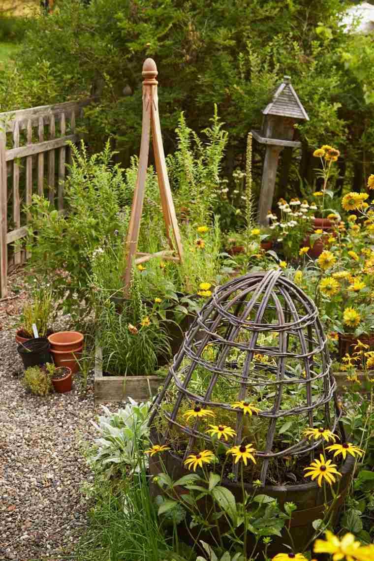 huertos en jardines