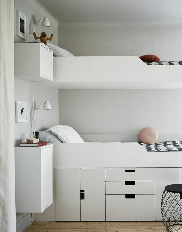 Habitaciones infantiles peque as con mucho encanto y estilo - Childrens small bedroom furniture solutions ...