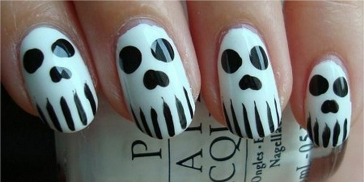 ideas uñas decoradas- halloween
