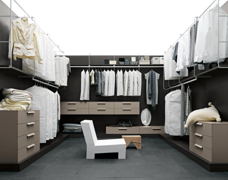 consejos e ideas para armarios vestidores