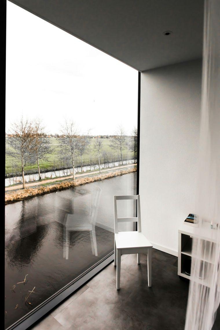 interior blanco especial mobiliario
