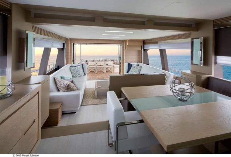 interiores inspirados en yates de lujo ideas