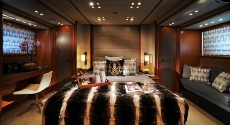 interiores de yates de lujo