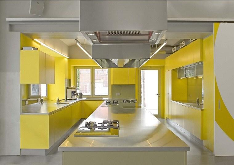 Color amarillo en la cocinas – Ideas y consejos para enriquecer el espacio