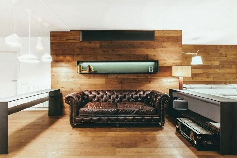 interiror-moderno-salon-pared-madera