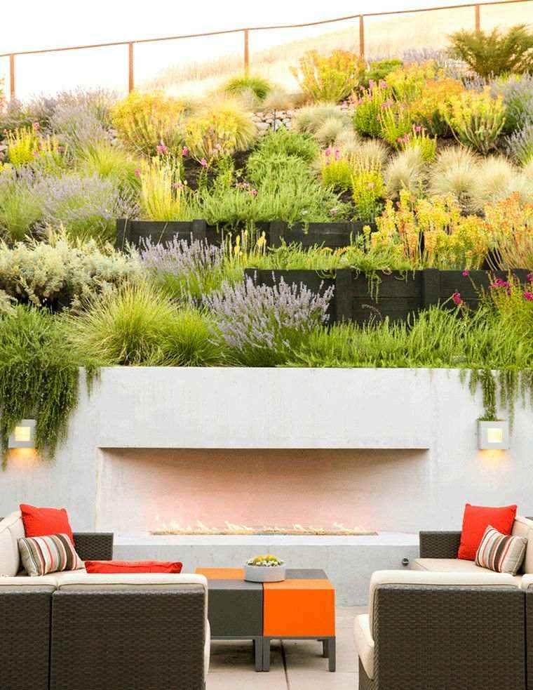 estupenas fotos de jardines de Pinterest