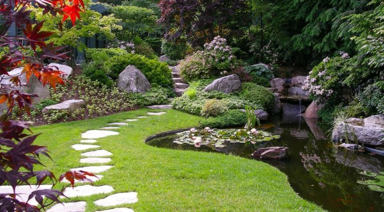 jardines-zen-exteriores-camino-estanque-piedras