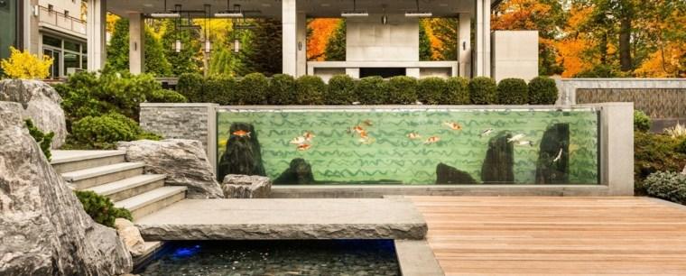 jardines zen exteriores detalles-modernos-peces