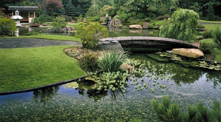 jardines zen exteriores-estanque-grande-diseno