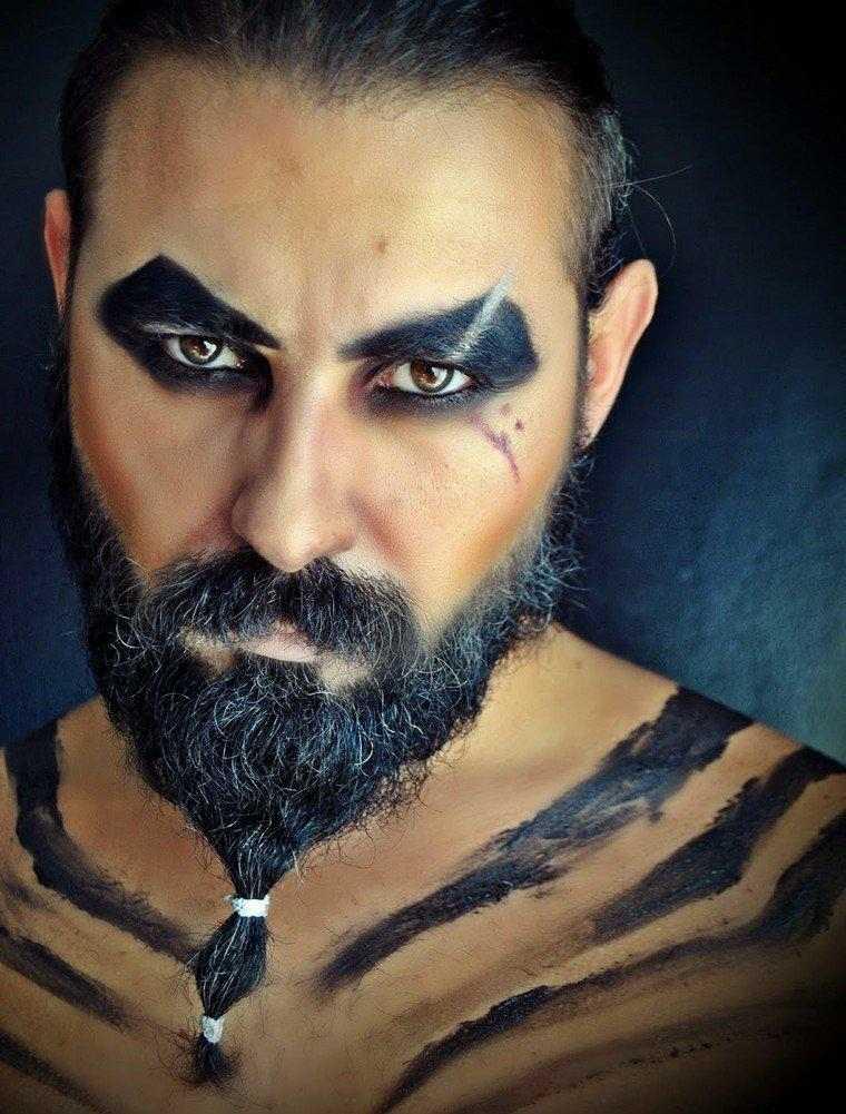 maquillaje estupendo para Halloween