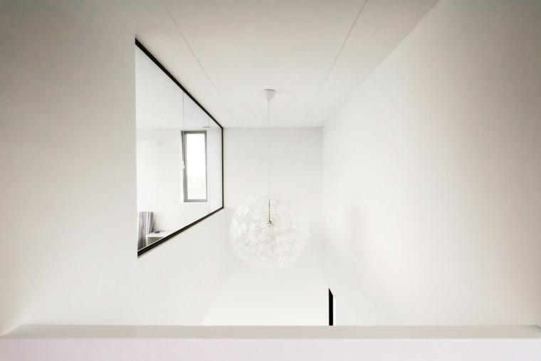 lampara techo blanca moderna