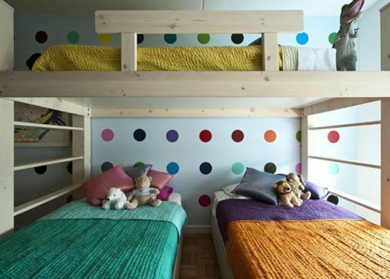dormitorios compartidos infantiles