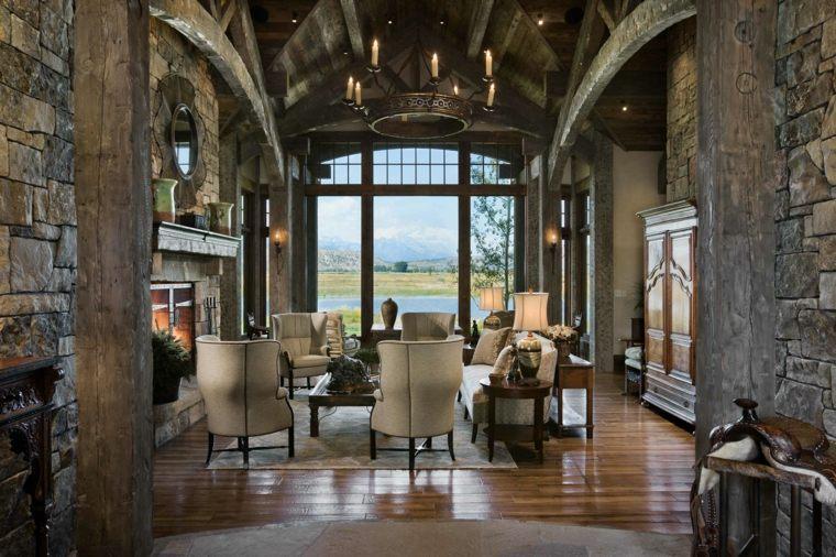 locati-architects-diseno-casa-salon-estilo-rustico