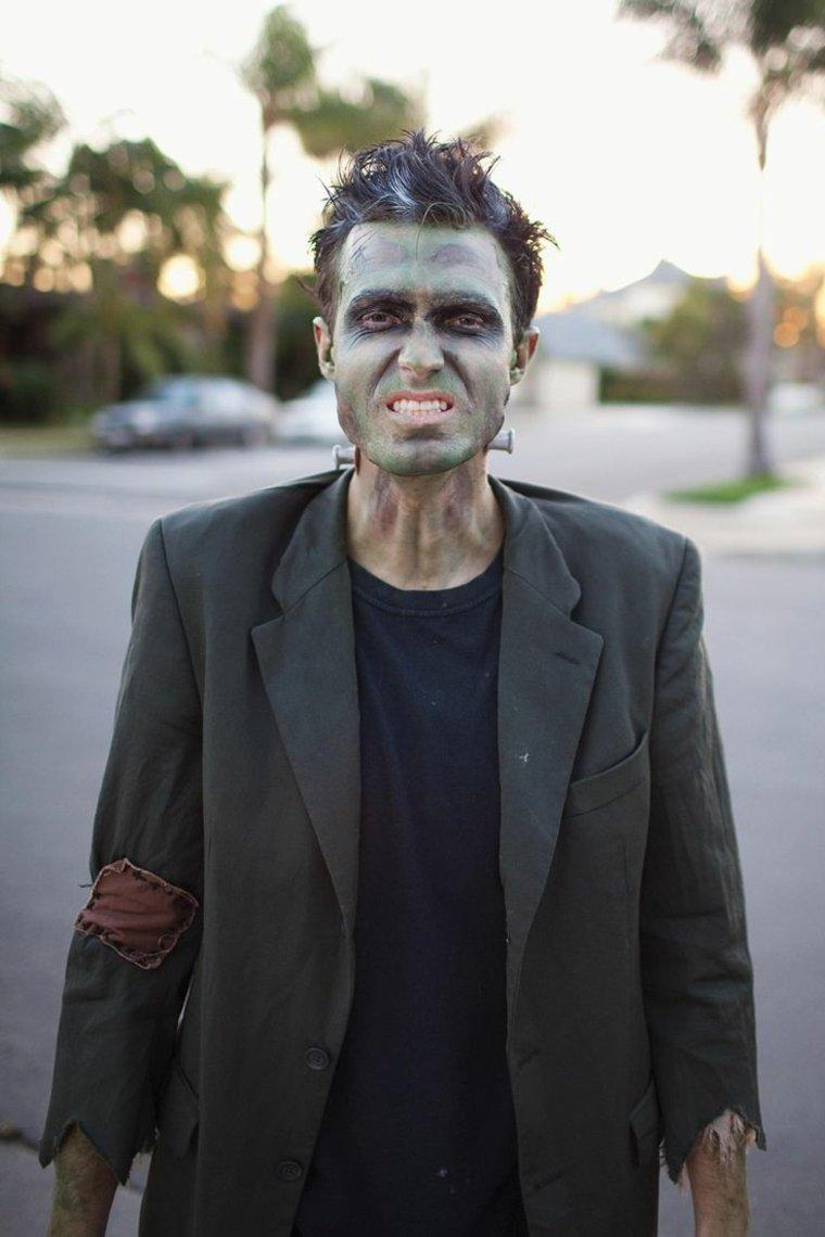 Maquillaje de Frankenstein