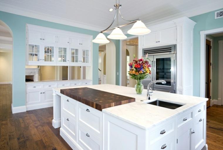 superficies y encimeras de cocina de mármol