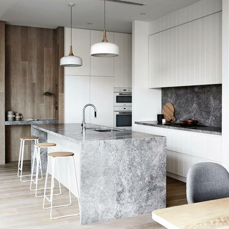 marmol-isla-cocina-moderna-opciones-originales