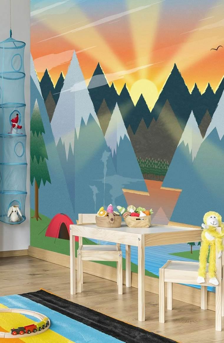 decorar las paredes de las habitaciones de niños