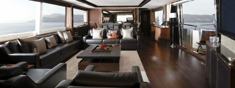 estupendas ideas para interiores de yates