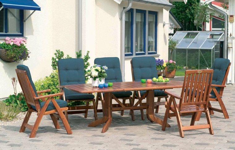 muebles de madera ideas comedor-aire-libre