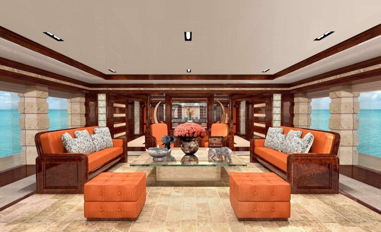 interiores de yates