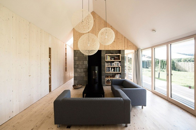 paneles-decorativos-salon-madera-piedra-estilo