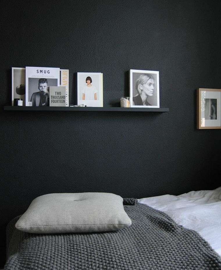 colores oscuros para paredes de habitacion