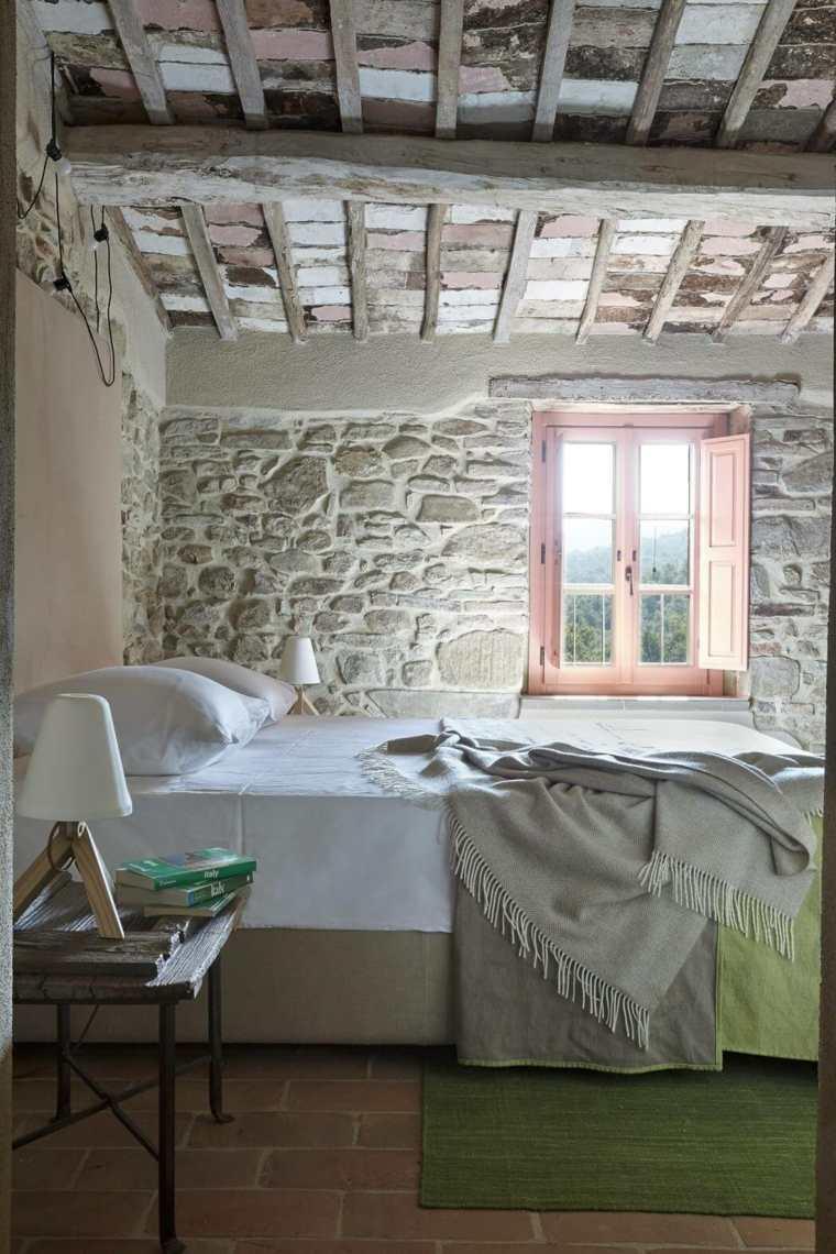 Paredes de piedra natural en el dise o del interior Revestimiento para paredes dormitorios