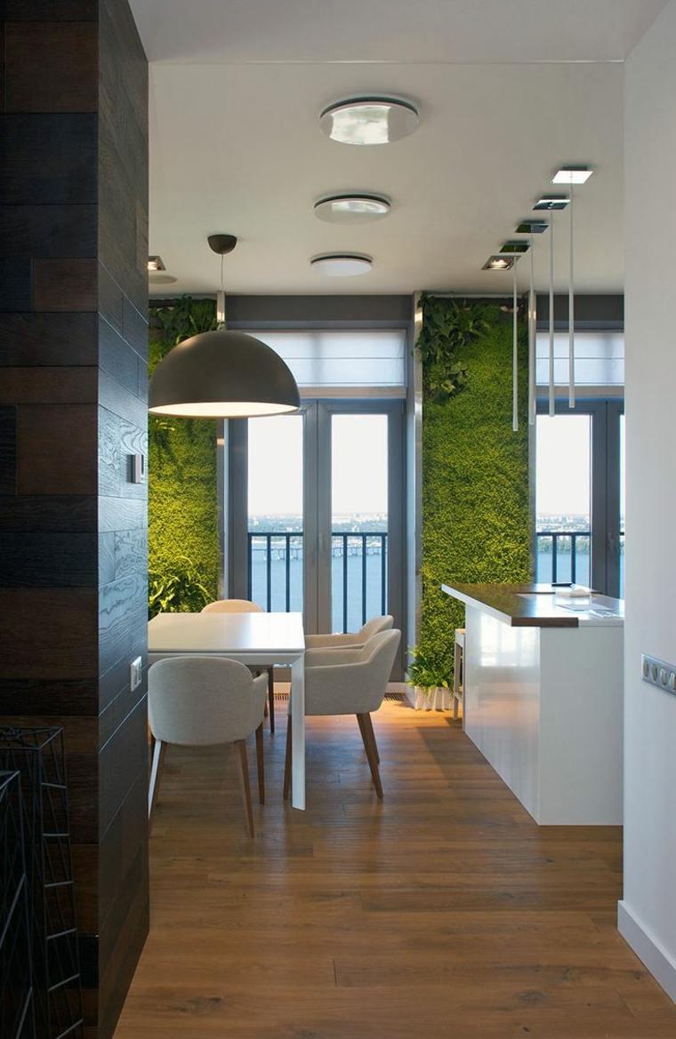 jardin vertical de musgo