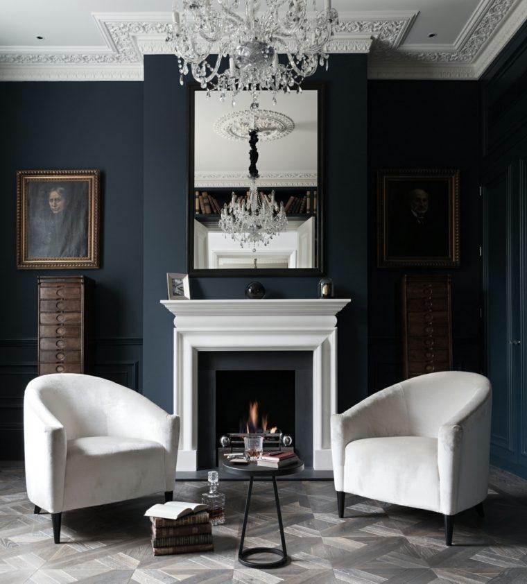 paredes-pintadas-negro-salon-chimenea