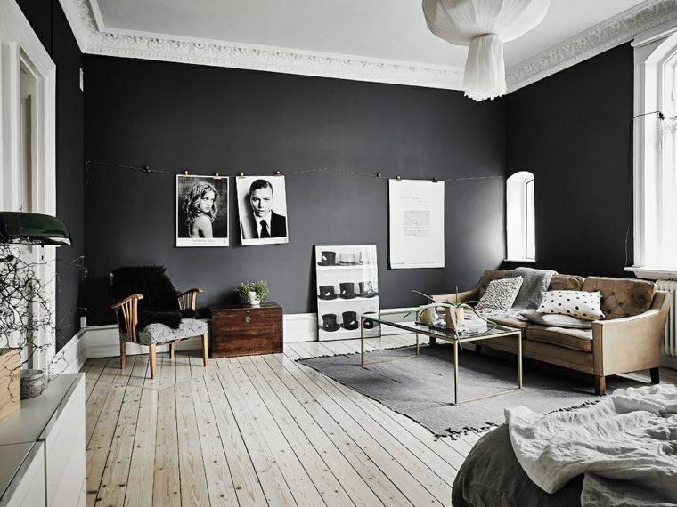 paredes-pintadas-negro-salon-suelo-madera
