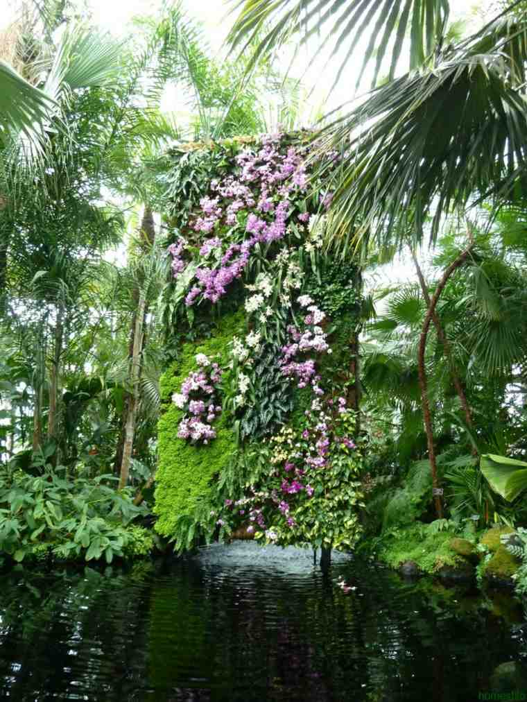 cuidar jardines verticales