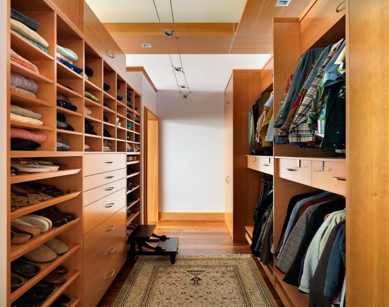 ideas para armarios y vestidores