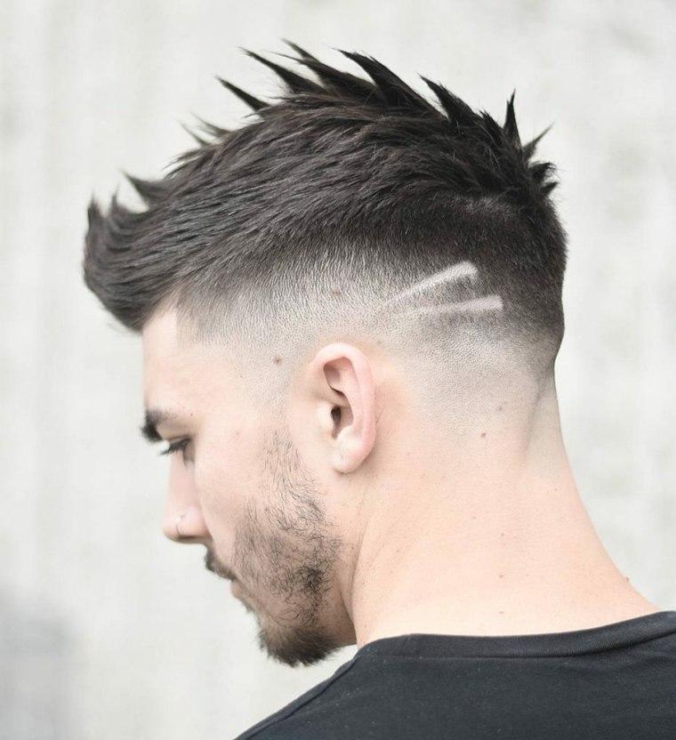 peinado para hombre