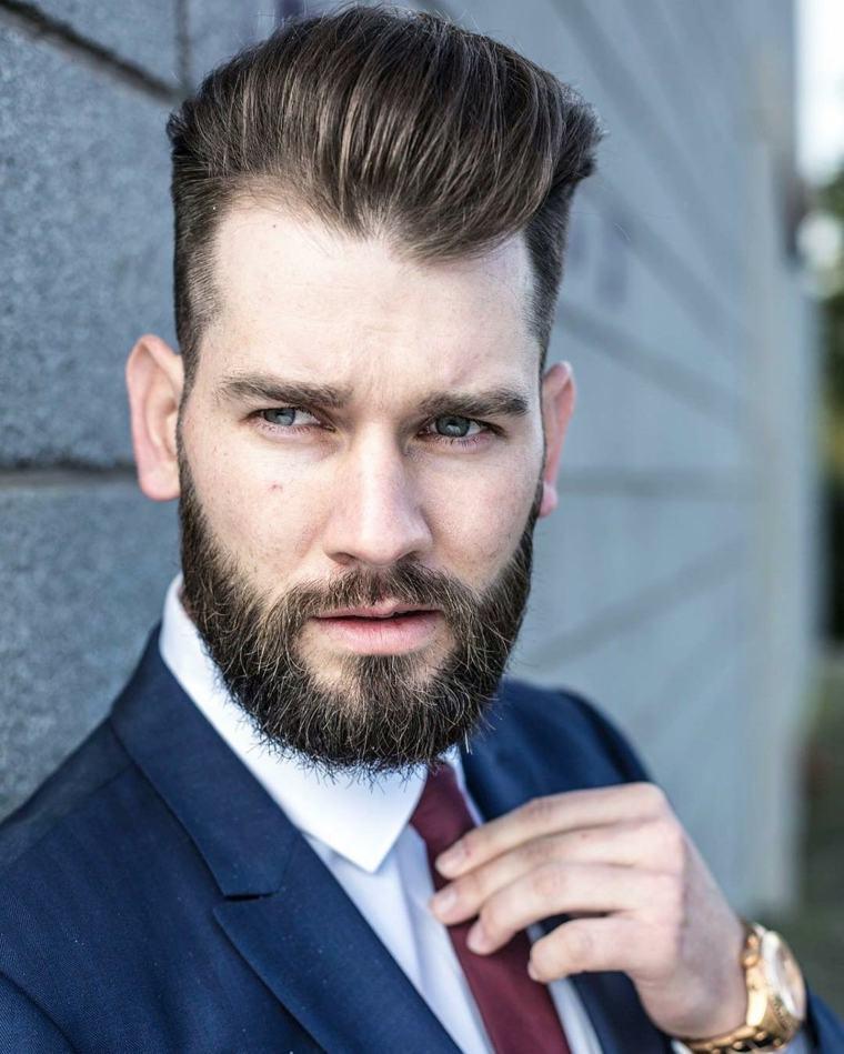Peinados De Hombre De Moda Pelo Largo Cortes De Pelo Elegantes 2018