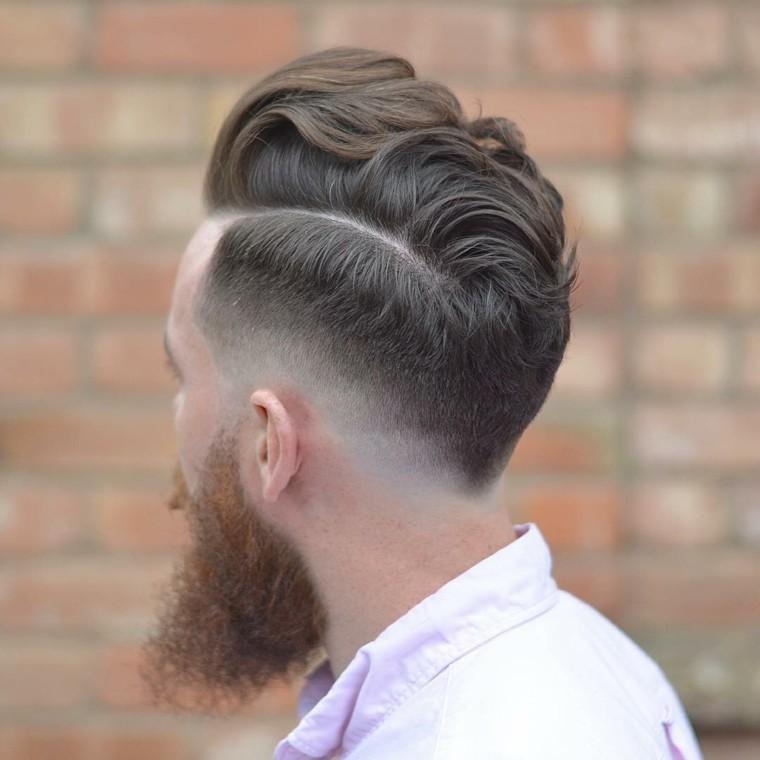 original peinado para hombre