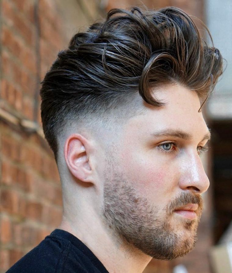peinados y cortes de pelo hipster