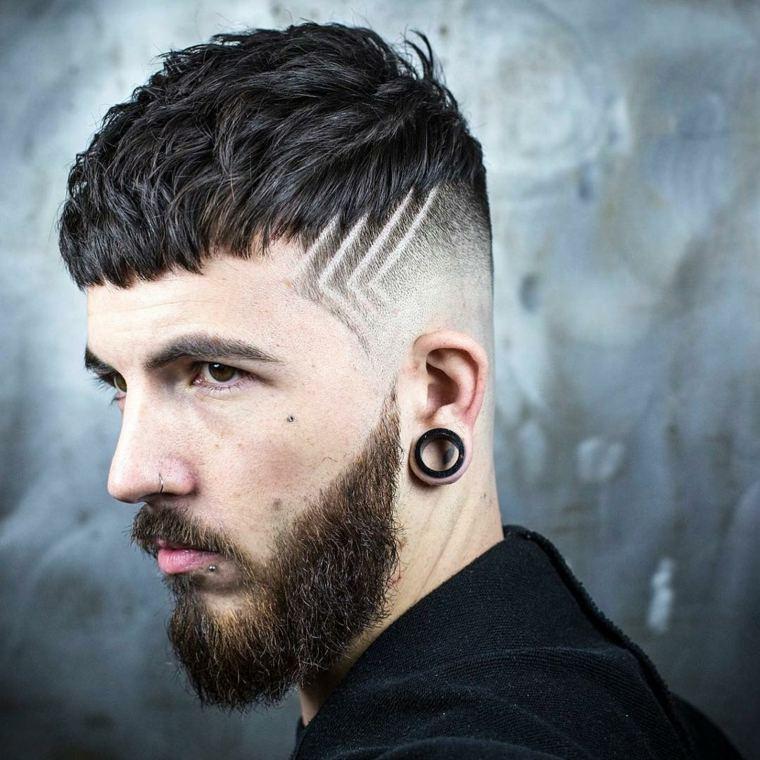 Peinados Hombre De Y Cortes Pelo Modernos Para El 2018 Diseno Rizado Ideas