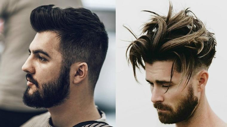 Cambio de look para hombres morenos