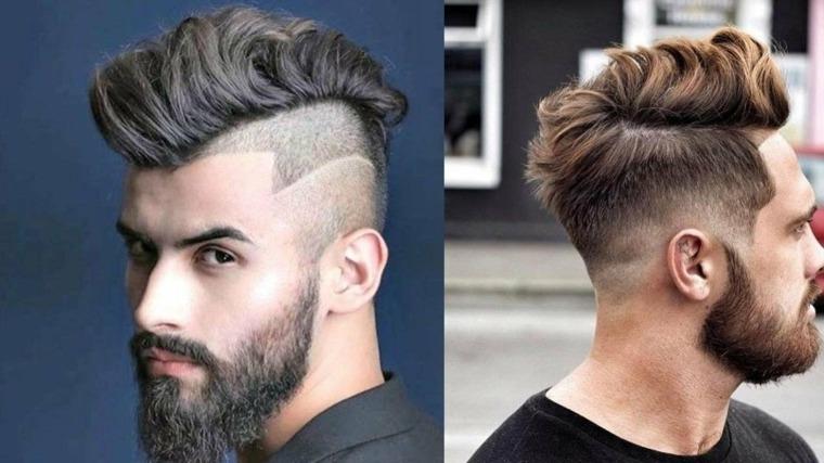 peinados y cortes de cabello para hombres